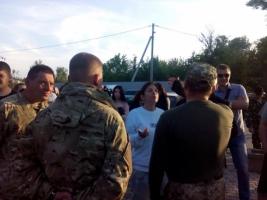В Ивано-Франковске активисты сорвали концерт Лободы. ФОТО. ВИДЕО