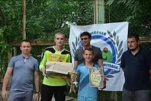В Николаеве провели первый турнир по уличному футболу