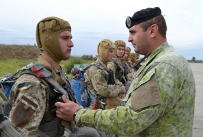 В Николаевской области морские пехотинцы и авиаторы приступили к выполнению практических задач в