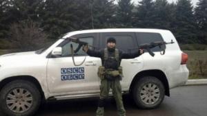 В районе Счастья боевики обстреляли миссию ОБСЕ