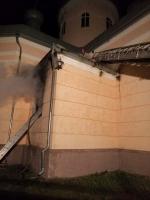 Ночью в одной из церквей Николаевской области произошел пожар
