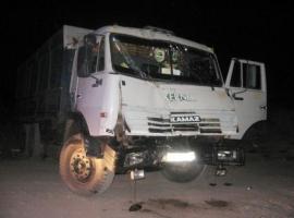 В Николаеве пьяный водитель «КамАЗа» скрылся с места ДТП