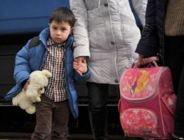 Из-за войны на Донбассе переселенцами стали 130 тыс. детей