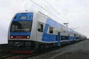 Из Киева в Харьков запустили двухэтажный поезд Skoda