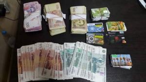 В Марьинке СБУ изъяла 100 тыс. грн. и 200 тыс. рублей при попытке ввоза в «ДНР»