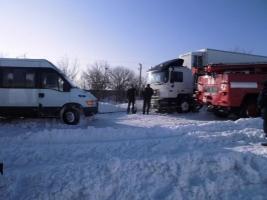 Из-за непогоды ГАИ ограничила движение в Одесской области
