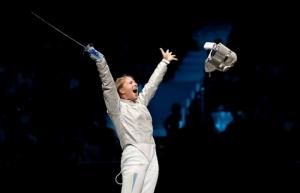 Николаевская фехтовальщица Харлан победила россиянку на Гран-при