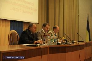 В Николаевском облсовете обсуждали вопрос о прекращении военных действий на востоке