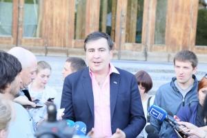 Михаил Саакашвили пообещал разобратся с коррупционерами в Одесской области