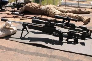 На одном из николаевских полигонов десантников «79-ки»  обучают снайпингу