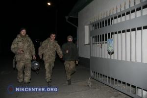 В Николаев вернулись десантники, которые участвовали в боях под Дебальцево