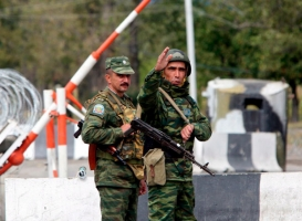 Российские пограничники обстреляли боевиков, пытавшихся вернуться в Россию