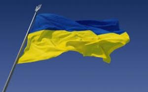 Над Ивановским сельсоветом  у Антрацита был поднят украинский флаг