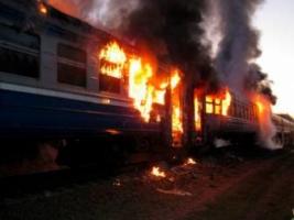В Черкасской области взорвался вагон