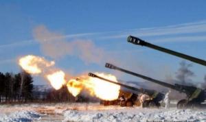 Николаевские десантники сражаются с террористами в районе Широкино