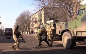 Во время крупной спецоперации в Донецкой области задержано 85 террористов