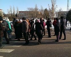 Возмущенные отключением света жители «Половинок» перекрыли трассу Одесса-Николаев