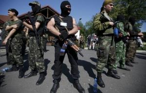 Горожане Донецка в панике - в центре города периодически раздаются автоматные очереди