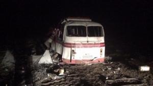 Вследствие взрыва автобуса под Горловкой госпитализированы 21 человек