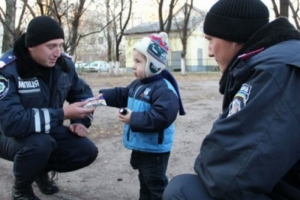 В Одессе полицейские вернули маме потерянного ребенка