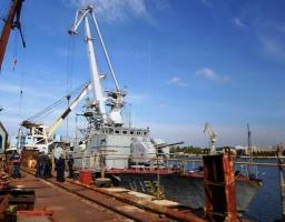В Николаеве военные корабли все-таки зашли в акваторию завода им. 61 коммунара