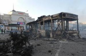 В результате обстрела Донецка в городе возник пожар - соцсети