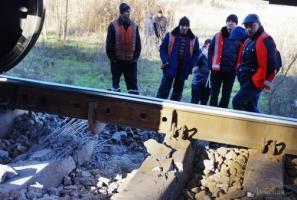 В Сети появилось видео взрыва на одесских железнодорожных путях