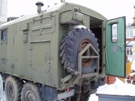 Из Херсонщины в зону АТО поехал передвижной автомобиль-мастерская