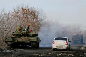 На Донбассе начнут отводить тяжелую технику,- представитель Генштаба