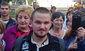 В Херсоне сторонники «Русского мира» пытались прорваться в горсовет. (Фото и видео)