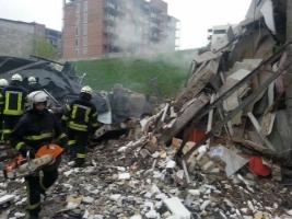 В Киеве в результате мощного взрыва погиб один человек