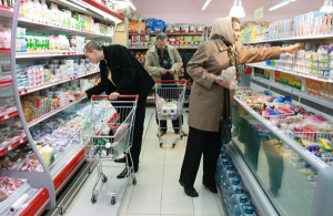 С 13 октября Украина запретит ввоз продуктов из Крыма