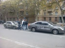 Агитация за Кивалова привела к ДТП в Одессе