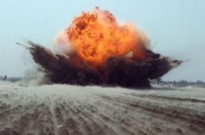 В Мариуполе на мине подорвались пятеро украинских военных