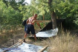 Одесситы снесли забор на берегу моря