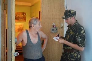 В Николаеве в призывной кампании участвуют и военные, и милиция