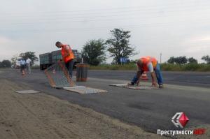 В Николаеве из-за конфликта с перевозчиками весовый комплекс пришлось разобрать