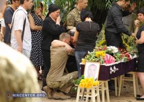 Николаевцы простились с погибшим на Донбассе воином Михаилом Артеменко