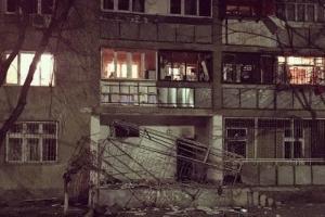 В Одессе взорвали офис волонтера, расположенный в жилом доме