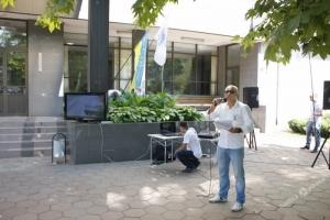 Одесские активисты провели акцию против судьи-взяточника