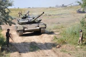 На полигоне «Широкий Лан» завершились военные учения (ВИДЕО)