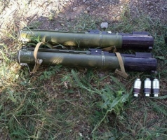 В Херсонской области нашли тайник с оружием