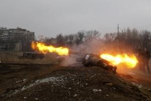 Ситуация в АТО: за сутки боевики 40 раз обстреляли украинские позиции