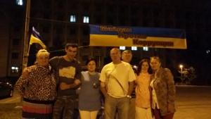 Одесские активисты организовали «мини-Майдан» против коррупции