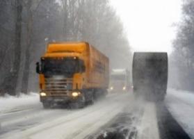 Из-за непогоды въезд в Николаев большегрузному транспорту будет запрещен