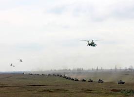 Житомирская пехота в степях юга Украины показала, на что способна