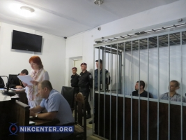 В Николаеве суд над охранником главаря «ДНР» Пушилина начался с драки