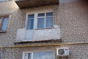 Коммунальщики Херсонщины искали опасные балконы