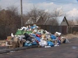 Частная фирма за 300 тыс. грн. вывезет мусор из Большой Коренихи
