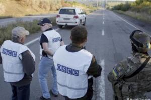 В Донецке напали на наблюдателей ОБСЕ